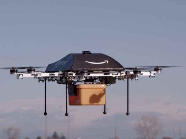 Amazon Wants Air Space for Delivery Drones