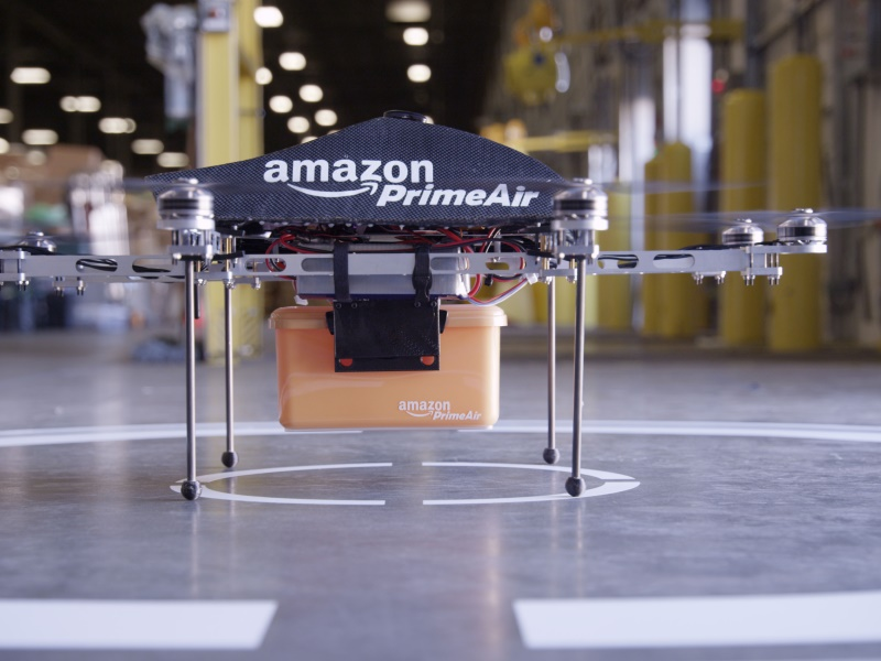 Amazon Gets Permission to Test Drone Delivery in Britain