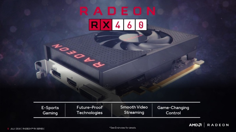 AMD Radeon RX 460 Launched in India Starting at Rs. 11,990