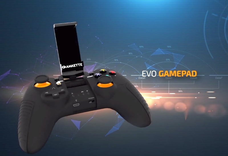 Amkette Evo Gamepad Pro for Android Devices Launched at Rs. 2,799