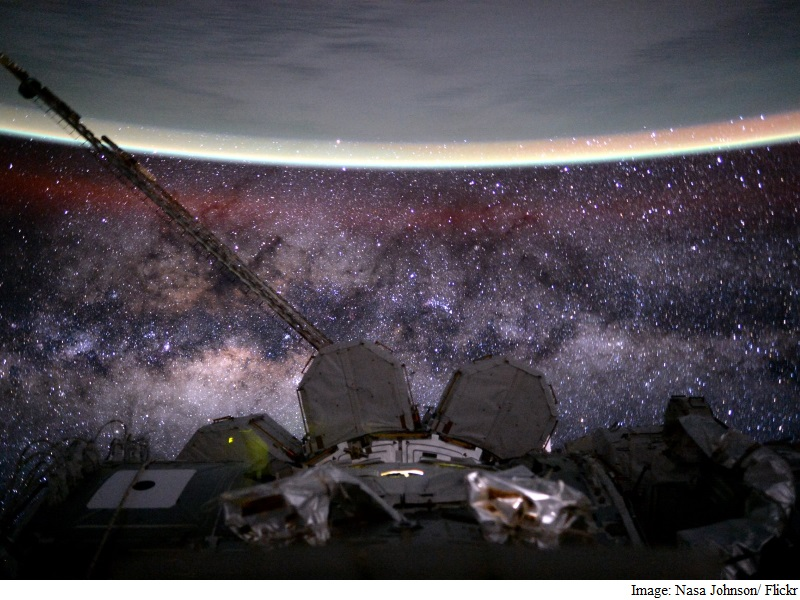 ISS Astronauts Step Out on Spacewalk