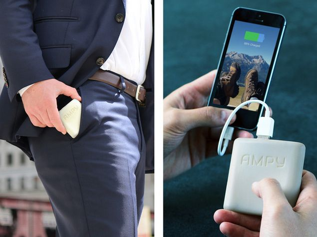 Charge Your Phone As You Walk With Ampy Technology News