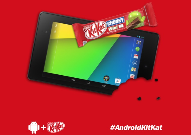 Android 4.4 KitKat to release in October: Nestle