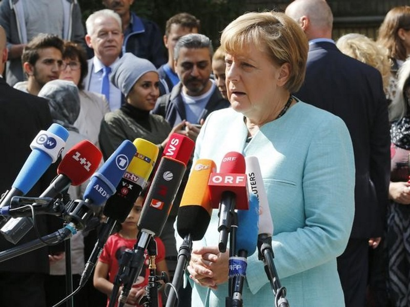 Merkel Says Facebook Needs to Do More Against Racist Posts