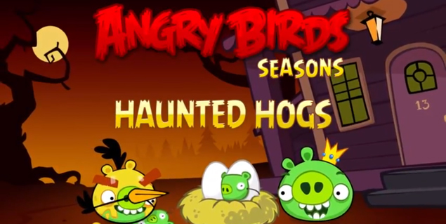 Happy Halloween! Angry Birds special, Star Wars gameplay footage released