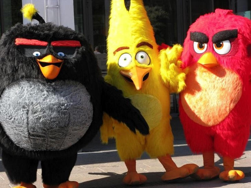 Angry Birds Maker Rovio Bets Nest Egg on 3D Movie