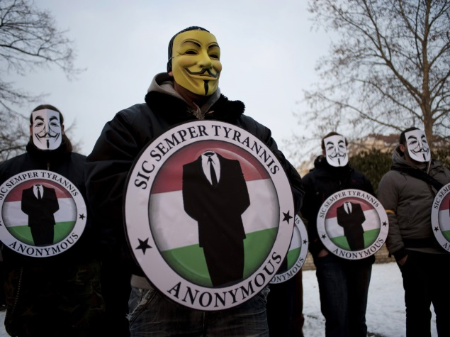 'Anonymous' Hackers Plead Guilty to Minor Charge in US for Cyber-Attacks