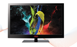 AOC targets 10 percent market share in flat panel TV segment
