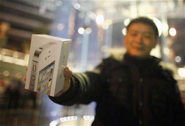 Apple share of China smartphone market almost halved in Q2 - IDC