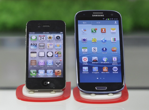 Apple narrows Samsung mobile gap; iPhone 5 to give further boost