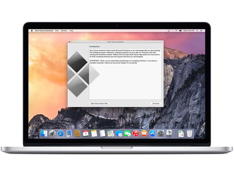 bootcamp windows 10 on mac