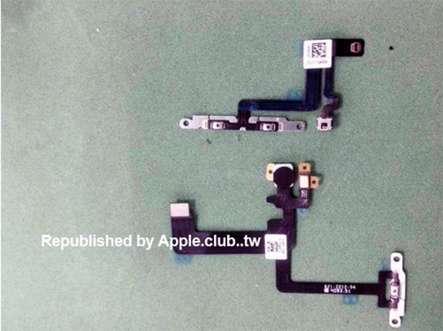 Alleged iPhone 6 SIM Card Tray, Power and Volume Flex Cables Spotted