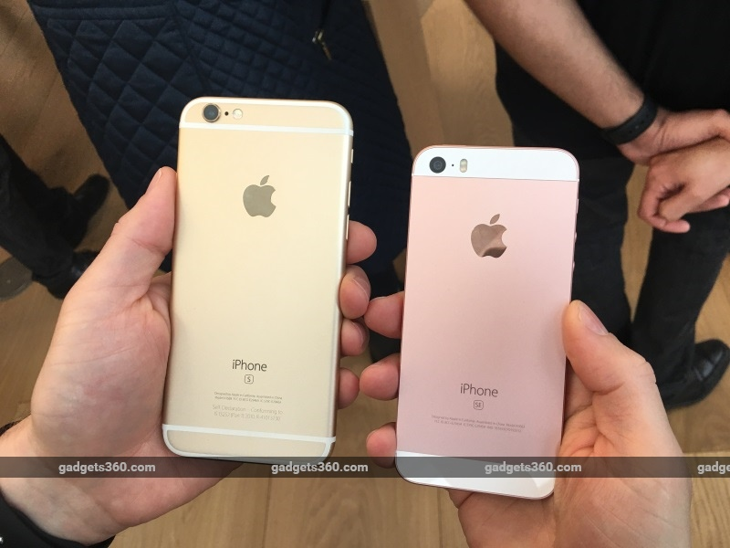 iPhone SE in Pictures | NDTV Gadgets360.com