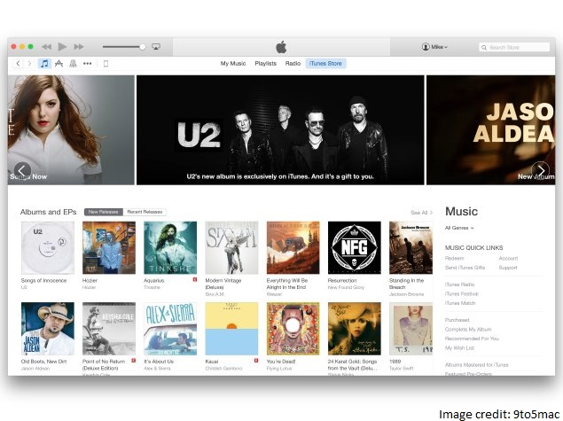 Redesigned iTunes Store Starts Rolling Out Ahead of OS X Yosemite Launch