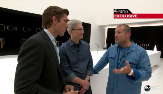 Apple Design Chief Jony Ive Says 'Bar is Very High' for Wearable Tech