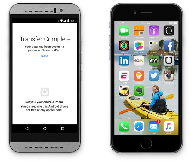 Apple Now Makes Android Apps, Including One That Will Help You 'Move to iOS'