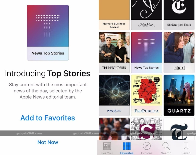 Apple News Now Showcases Curated Stories With iOS 9.2
