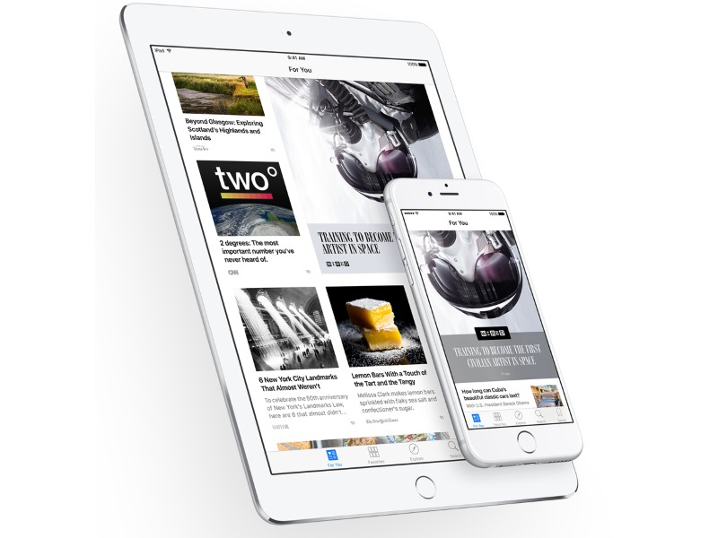 Apple News Is Now Open to Publishers of All Sizes