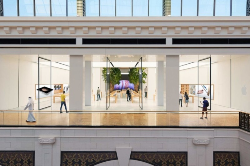Apple Opens Its First Stores In The Middle East In The