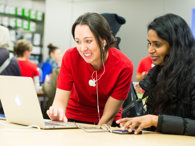 Apple More Than Doubles Hiring of Women and Minorities