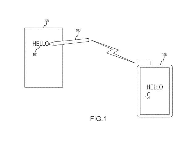 Apple Awarded Patent for a Stylus That Writes on 'Any Type of Surface'