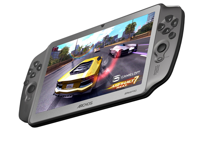 Archos announces 7-inch GamePad, an Android tablet with dual analog sticks