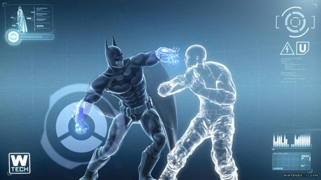 Batman: Arkham City Armored Edition on Wii U's GamePad