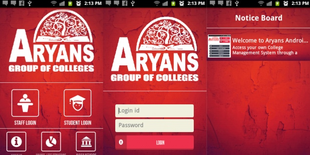 Students develop Android app to help make their campus paper-free
