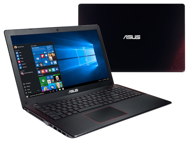 asus r510jx gaming laptop with windows 10 launched at rs. Black Bedroom Furniture Sets. Home Design Ideas