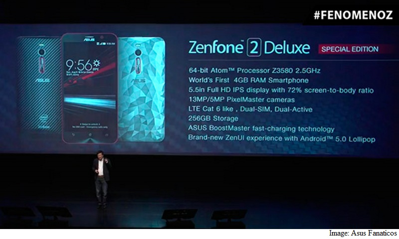 Asus ZenFone 2 Deluxe Special Edition With 256GB Internal Storage Unveiled
