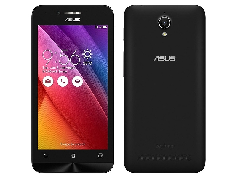 Asus ZenFone Go 4.5 Dual-SIM Android Smartphone Launched at Rs. 5,299