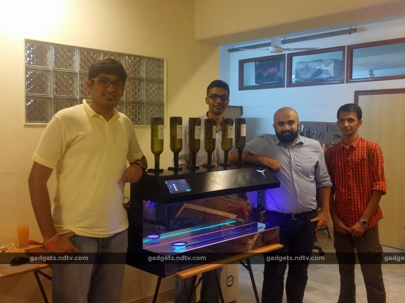 Meet Barsys, a Smart Cocktail Machine That's Made in India