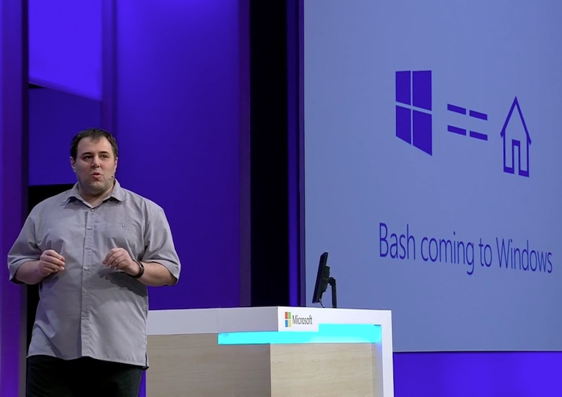 Microsoft Partners With Canonical to Bring Bash to Windows 10
