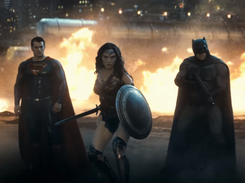 Batman, Superman, and Wonder Woman Cause Collateral Damage in New Trailer