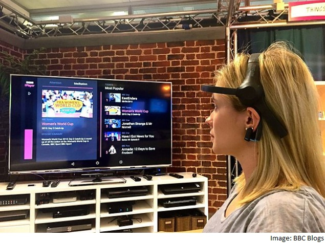 BBC Trials Headset That Lets Users Change Channels With Their Minds