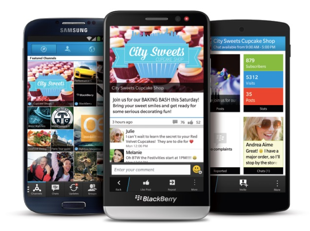 BlackBerry says no ads in BBM chats, only Channels to get sponsored content