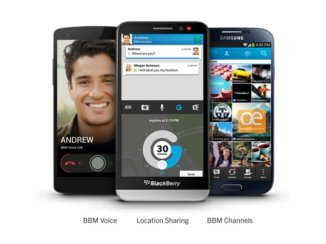 BBM for Android updated with fixes for emoticon issues and more