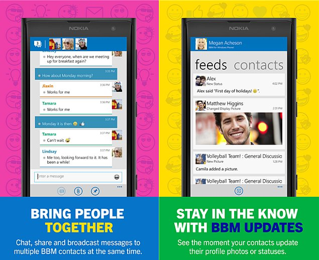 BBM for Windows Phone Leaves Beta, Now Available for Download