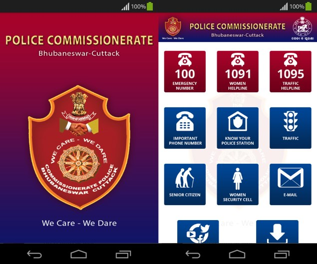 Odisha Chief Minister Launches App to Help Citizens Contact Police