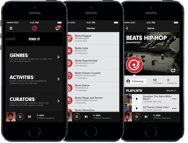 Beats Music subscription-based online music streaming service launched