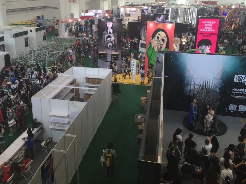 Founder of India's Comic Con Visits Beijing's First