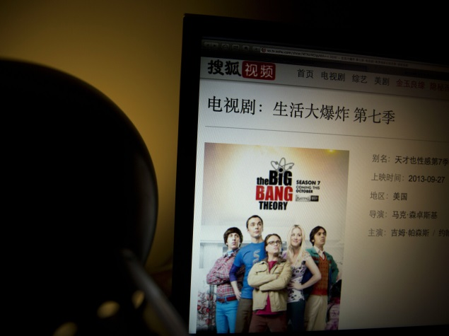 The Big Bang Theory among US TV shows banned in China