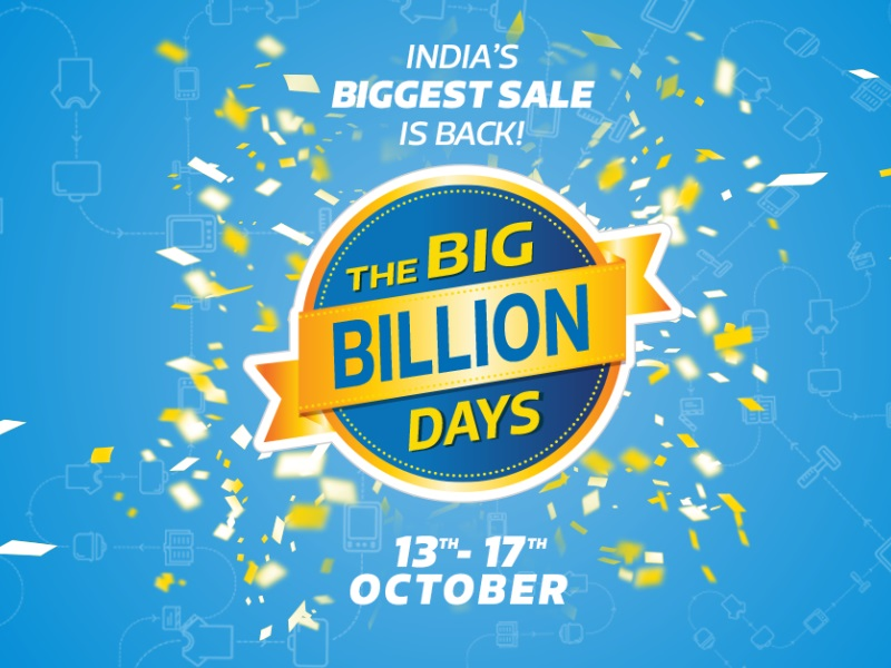 Flipkart Big Billion Days Sale to Be App-Only, Start October 13