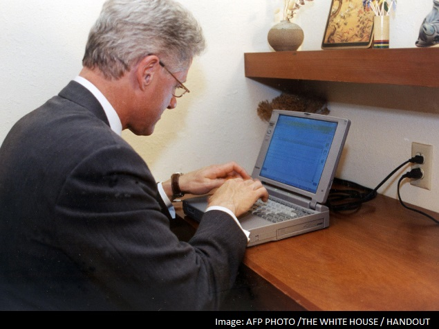 Laptop used for first US presidential email sold for $60,667