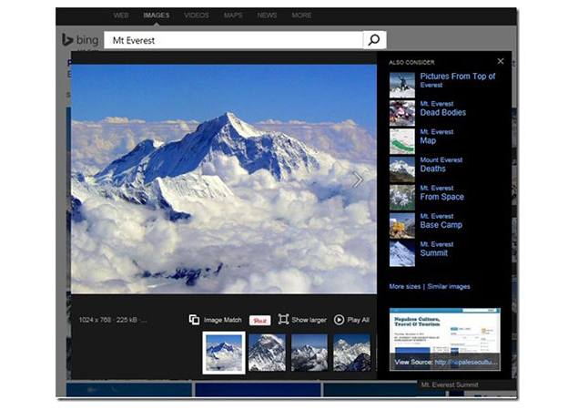Bing finally brings 'Image Match' feature to search