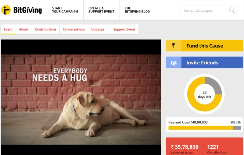 Giving for Good: Social Crowdfunding Comes to the Fore in India