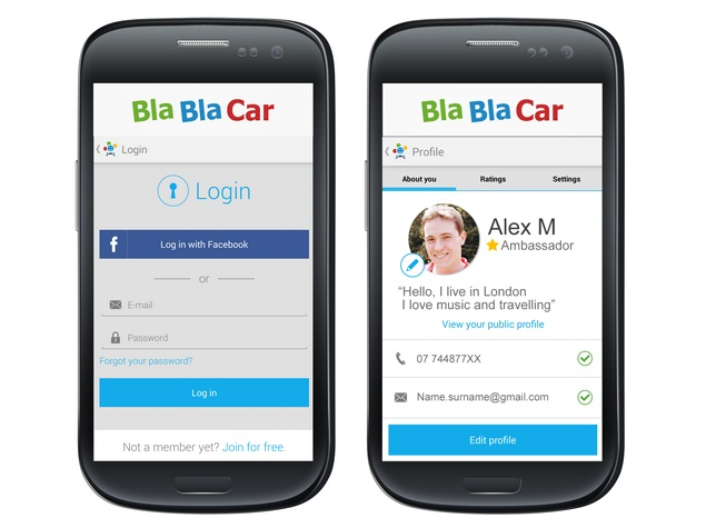with funky name but big demand blablacar eyes global ride share push technology news. Black Bedroom Furniture Sets. Home Design Ideas
