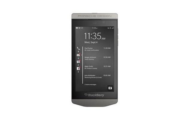 BlackBerry Porsche Design P'9982 premium smartphone unveiled