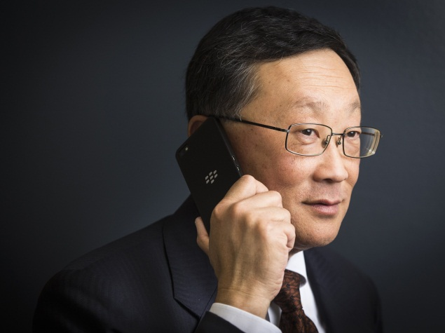 BlackBerry to launch multiple QWERTY phones in next 18 months: CEO