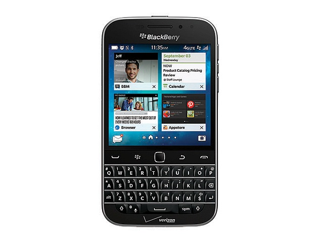Blackberry Classic Non Camera Qwerty Phone Launched